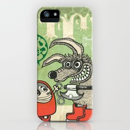 role_play iPhone Case