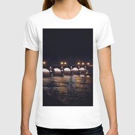 Bridge in the night T-shirt