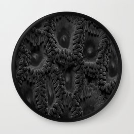 Eleven Shades of Gray Wall Clock