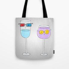 Glasses wearing glasses Tote Bag