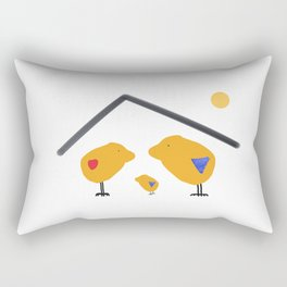Sunny Family Sweet Home and Boy Rectangular Pillow