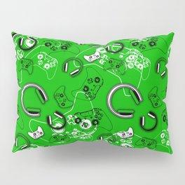 Gamers-Green Pillow Sham