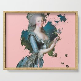 Marie Antoinette tribute pink Serving Tray