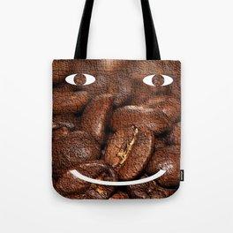 Smiling Coffee Tote Bag