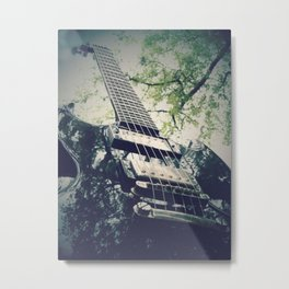 Electric feels Metal Print