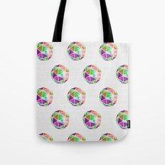 vivid dodecahedron Tote Bag