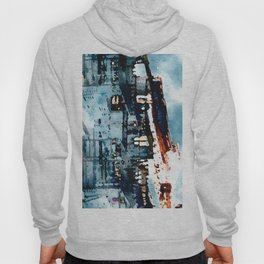 Blue Gray Day Hoody