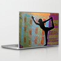 yoga Laptop & iPad Skins featuring Yoga by Vicki Lynn Rae