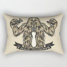 Chewie I Hate Mondays Rectangular Pillow