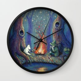 Moomin's night Wall Clock