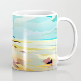 Rocky Beach Coffee Mug