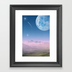 Shooting Star Framed Art Print