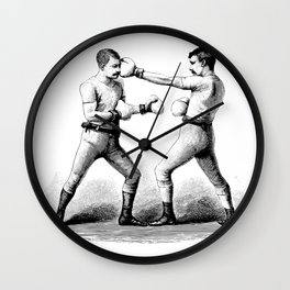 Men with Mustaches Wall Clock