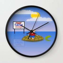 Muddy on Tour Wall Clock