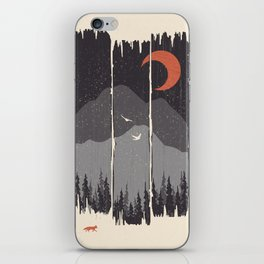 Winter Mountain Weather... iPhone Skin