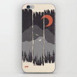 Winter Mountain Weather... iPhone Skin