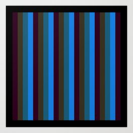 Spring Stripes Art Print