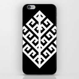 Yggdrasil - White iPhone Skin