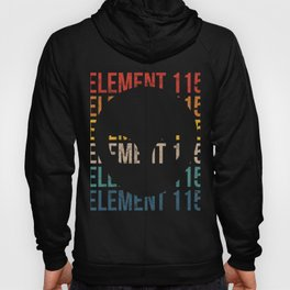 Cool Alien Head Vintage Element 115 UFO Conspiracy Theory Apparel Hoody