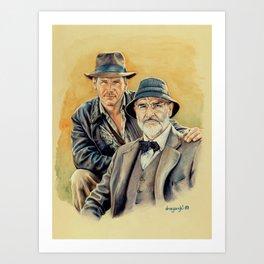 The Jones Boys Art Print