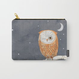 Winking Owl by the Light of the Moon Carry-All Pouch