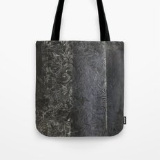 collage black Tote Bag