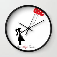 banksy Wall Clocks featuring OSC Banksy by ruizspeaces