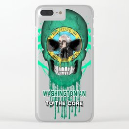 To The Core Collection: Washington Clear iPhone Case