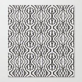 Black Coral Weaving Canvas Print