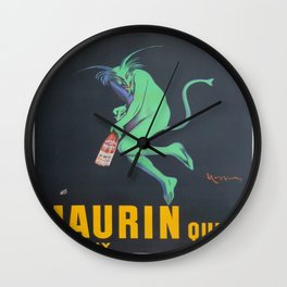 Vintage poster - Maurin Quina Wall Clock