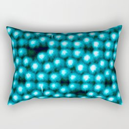 Even On A Molecular Level There Is No Perfection Rectangular Pillow
