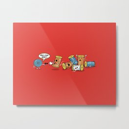 Who's Cute Now!? Metal Print