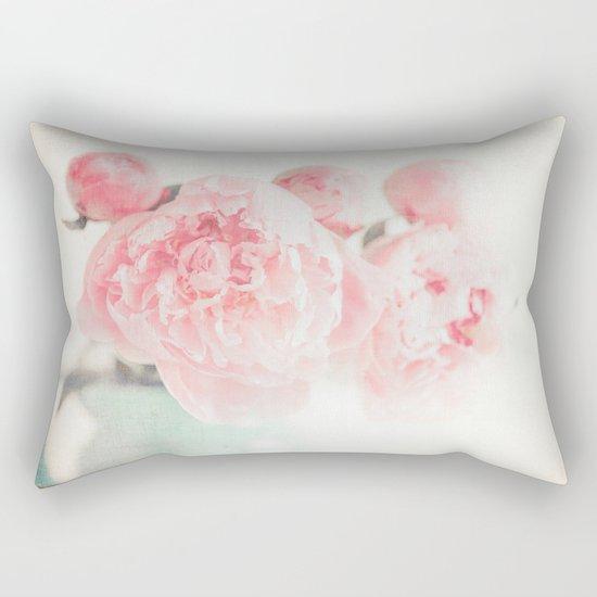 Spring Peony Rectangular Pillow