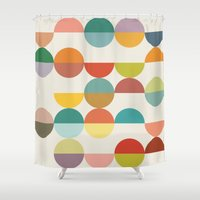 nordic Shower Curtains featuring Nordic by Latte4Home