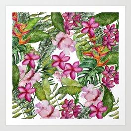 Tropical Garden 3 Art Print