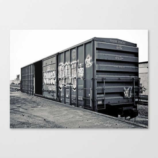 Train car Canvas Print