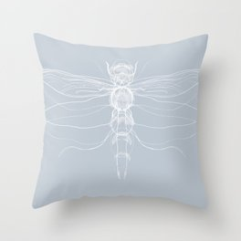 Dragonfly Spirit Guide Throw Pillow