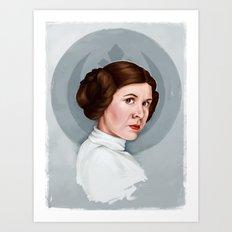 Princess Leia Art Print