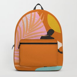 Noon Surfer Abstract Minimalism #1 #minimal #decor #art #society6 Backpack