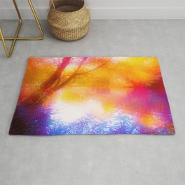 Wild, Mystic and Romance Landscape Rug