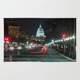 DC At Night Rug