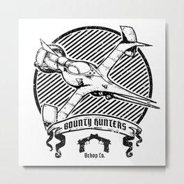 Bounty Hunters Co. Metal Print