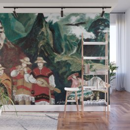 The ANDES             by Kay Lipton Wall Mural