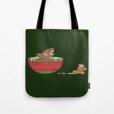 Gingerbread Jaws Tote Bag