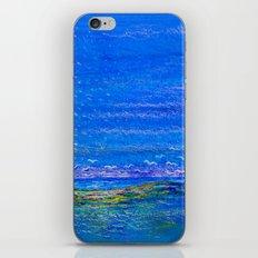 Blue landscape I iPhone Skin