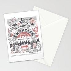 Exorcism Cream Stationery Cards