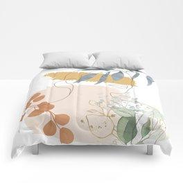 Line in Nature II Comforters