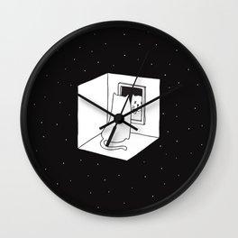 Schrödinger's cat Wall Clock