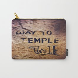Way to Temple, 2015 Carry-All Pouch