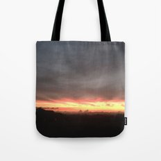Fired Horizons Tote Bag